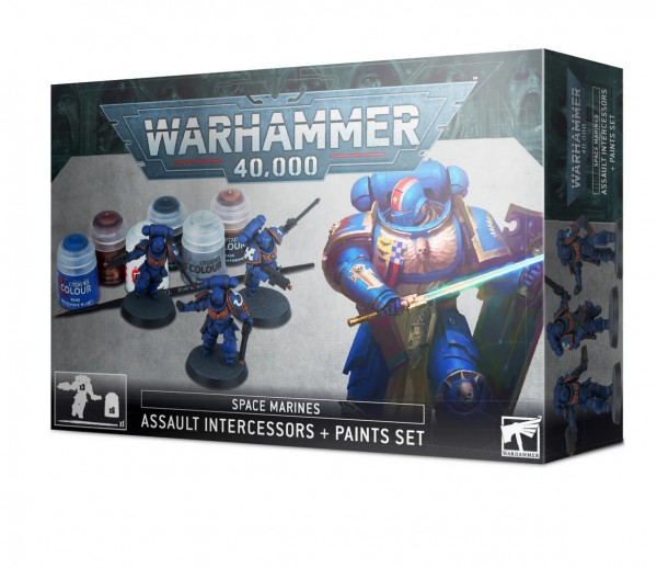 Space Marines Assault Intercessor + Paint Set.jpg