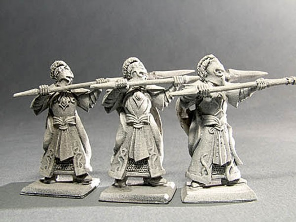 Elfen Veteranen Speerträger II