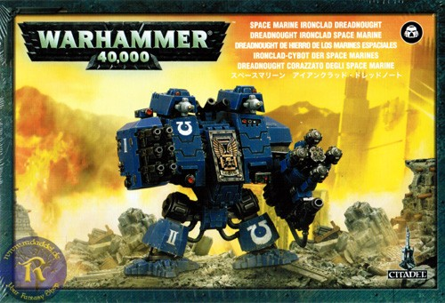 Ironclad Cybot der Space Marines