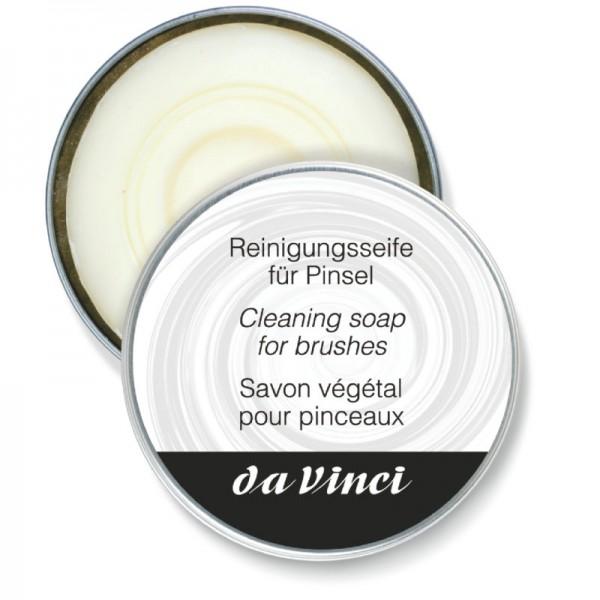 Da Vinci Reinigungsseife für Pinsel, 85 g in Blechdose