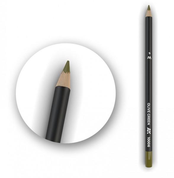 Watercolor Pencil Olive Green.jpg