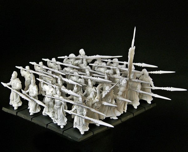 Elfen Veteranen Speerträger Regiment