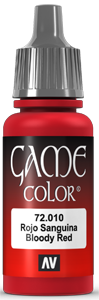 Game Color 010 Bloody Red