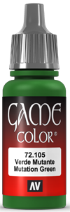 Vallejo Game Color 105 Mutation Green