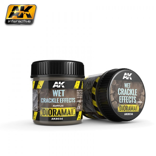 Wet Crackle Effects - 100ml (Acryl)