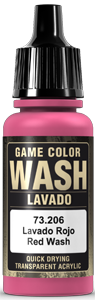 Game Color Ink 206 Wash Red Shade