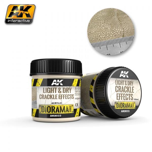 Light and Dry Crackle Effetcs - 100ml (Acryl)