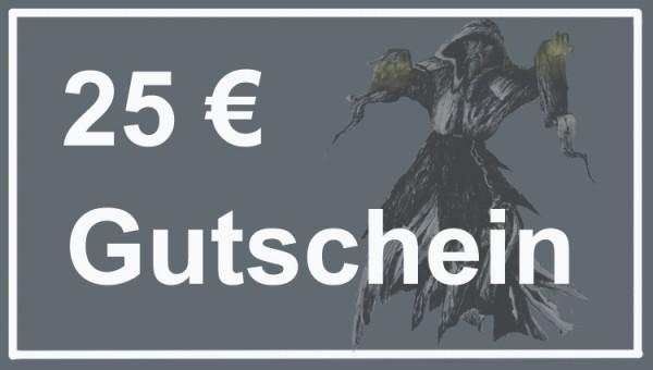 Gutschein im Wert von 25 Euro