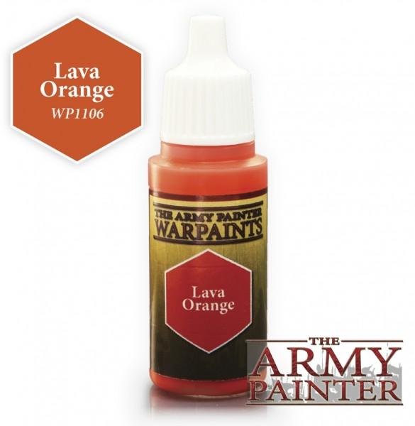 Lava Orange - Warpaints