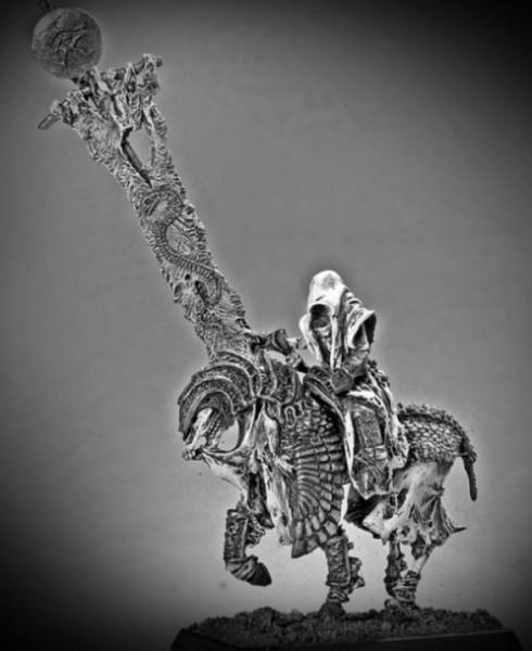 Wächter der Gräber Standartenträger auf Pferd