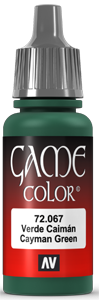 Game Color 067 Cayman Green