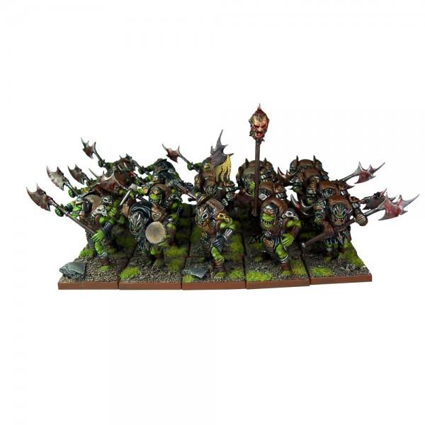 Orkkrieger Regiment mit Zweihandwaffen