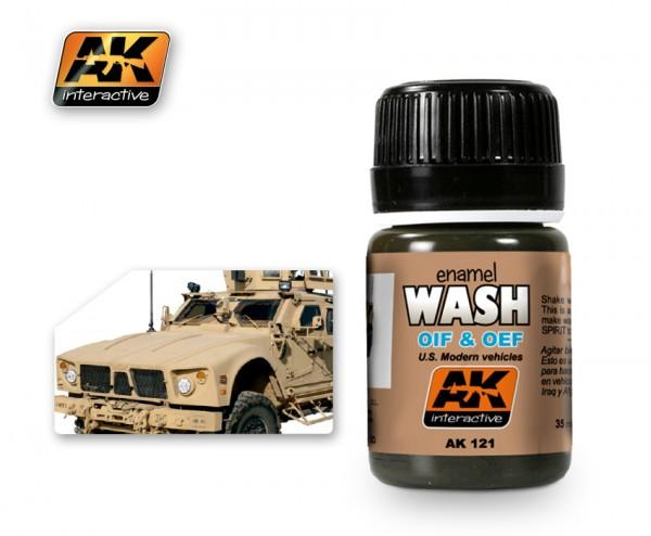 Oif and Oef U.S.Vehicles Wash