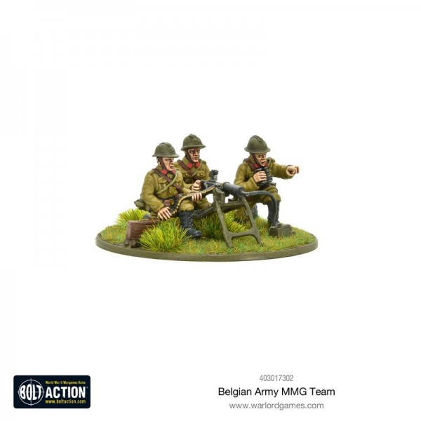Bolt Action: Belgian Army MMG Team