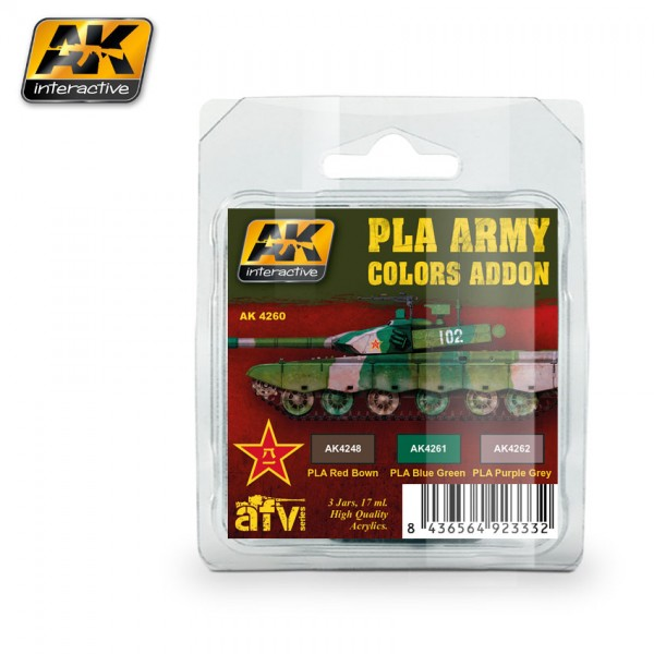 PLA Army Colors Addon