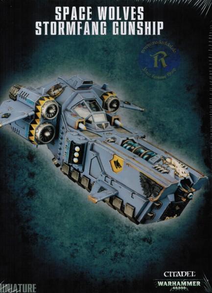 Space Wolves Stormfang Gunship