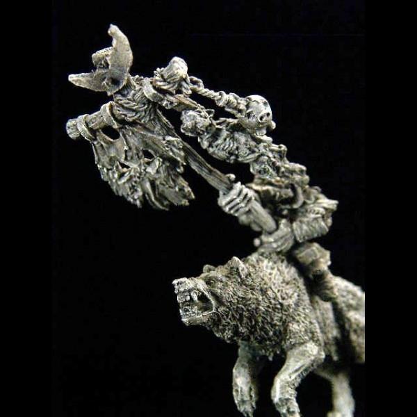 Goblin Wolfsreiter Standartenträger