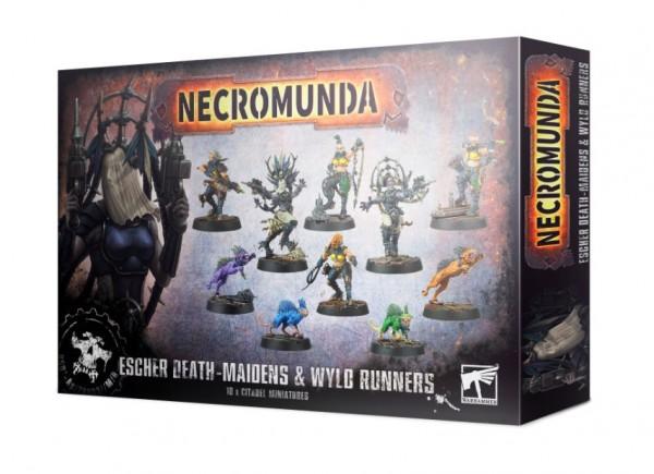 Necromunda Escher Death Maidens & Wyld Runners.jpg