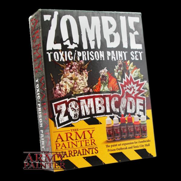 Zombicide Toxic Prison Expansion Paint Set